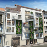 Greenloft, 12 logements collectifs en centre-ville
